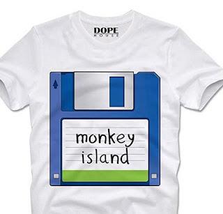 Camiseta Monkey Island - Commodore 64