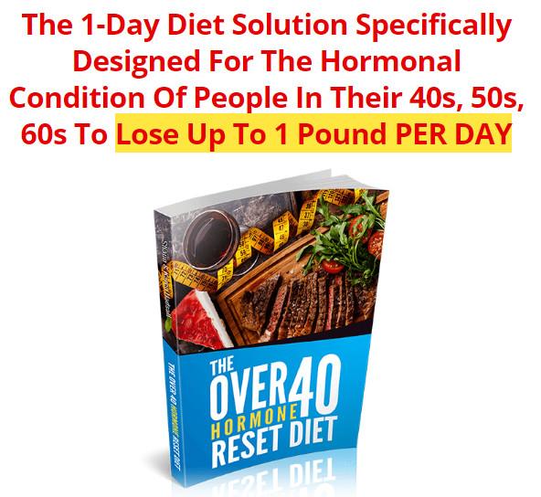 Over 40 Hormone Reset Diet REVIEWS, Shaun Hadsall PDF BOOK DOWNLOAD, Over 40 Hormone Reset Diet SCAM OR LEGIT?