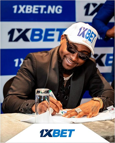 1XBET Nigeria : 1xBet Announces Davido as the Newest Brand Ambassador in Africa