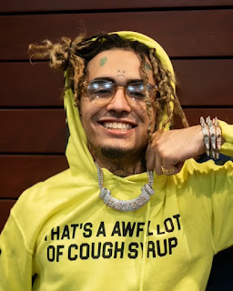 That's a awful lot of cough syrup Lil Pump lean shirt