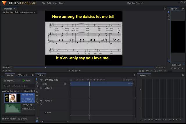 HitFilm Express: برنامج لعمل الفيديوهات مجاني