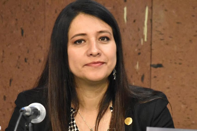 diputada Claudia Reyes Montiel (PRD)