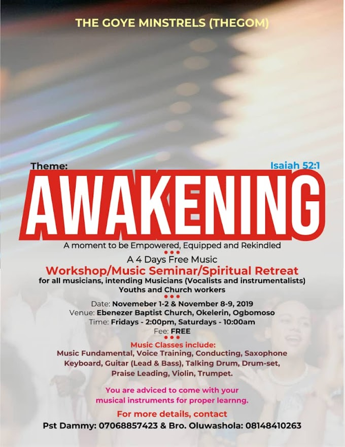 Awakening 2019 is here