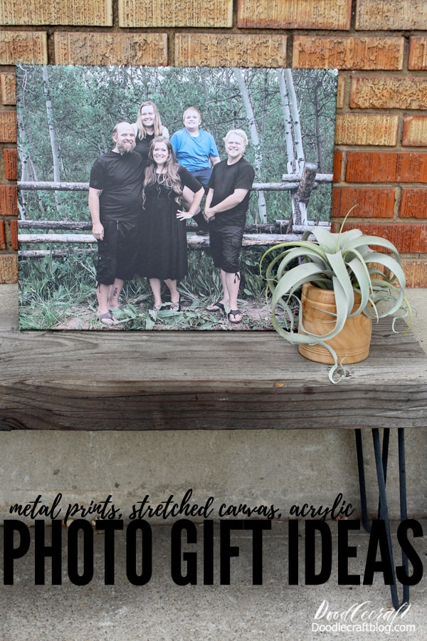 This is the best time of year for family pictures, the weather is cooled a bit and clothes can be more layered. The leaves are changing which makes the perfect backdrop. Once your family pictures are taken, get them made into photo gifts, the perfect solution for holiday gift giving!