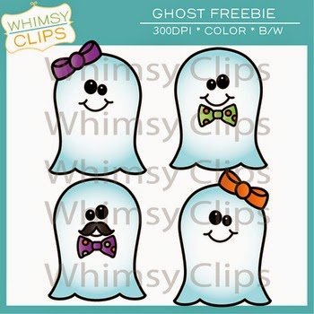 Ghost Clipart Freebie