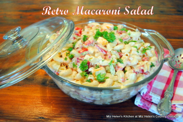 Retro Macaroni Salad at Miz Helen's Country Cottage