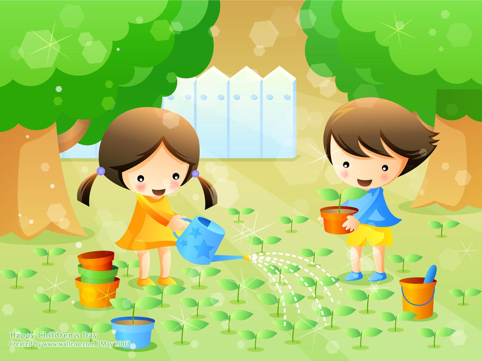 PicturesPool: Children's Day Wallpaper Greetings | Kids,Fun,Drawing,Art,Cartoon