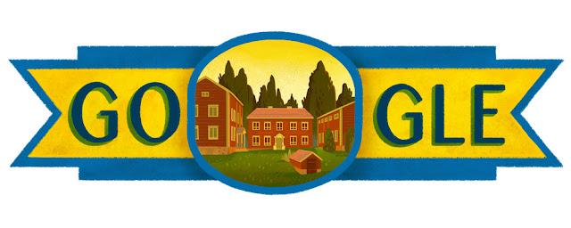Sweden National Day 2016 - Google Doodle