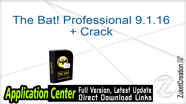 The Bat! Professional 9.1.16 + Crack