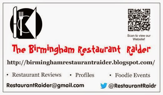 The B'ham Restaurant Raider