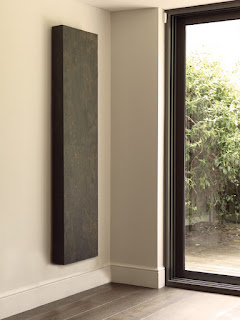 Cliff stone veneer vertical radiator