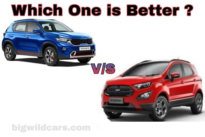 Kia Sonet VS Ford EcoSport Which one is Better ?