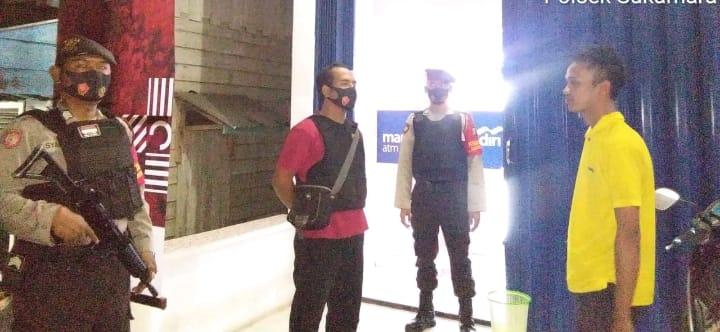 SatSabhara Polres Sukamara Tingkatkan Patroli Malam
