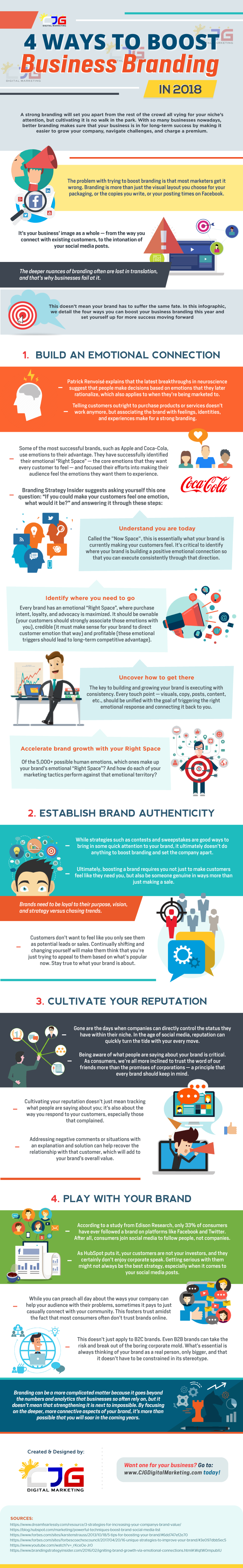 4 Ways to Boost Business Branding (Infographic)