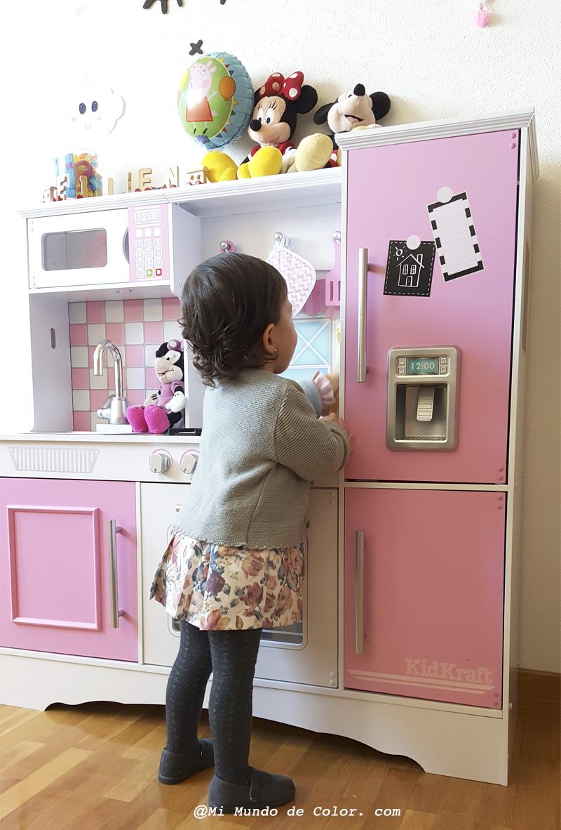la mejor cocina de juguete kid kraft