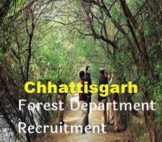 Chhattisgarh Forest Service Recruitment 2020 - Dailyknow.in
