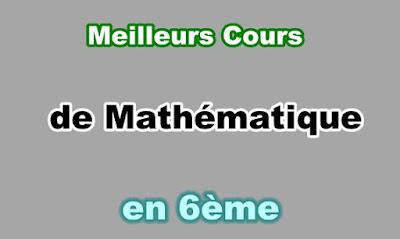Cours Mathématique 6eme en PDF