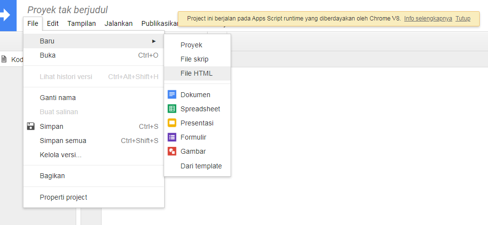 Cara Upload File Ke Google Drive di Blogger (With Script Google)