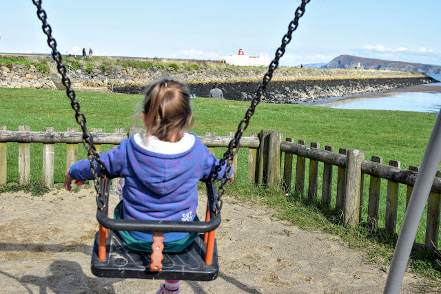 swings, ferry, stena ferry, Goodwick, Pembrokeshire, Goodwick Parrog, The Parrog, Goodwick Sands Beach, Fishguard, breakwater, coastal town, harbour, village, park, play park, free family day out, day out, fun day out,