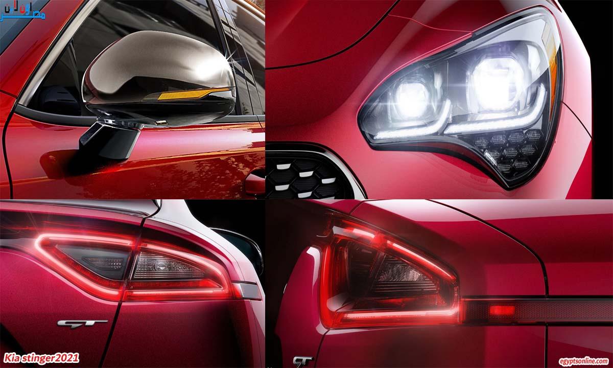 صور سيارات كيا ستينجر2021 Kia Stinger، سيارات كيا، أنواع سيارات كيا، أسعار سيارات كيا