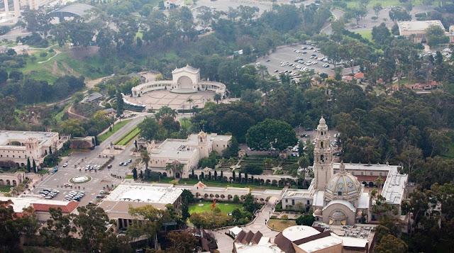 Atrações e eventos no Balboa Park em San Diego