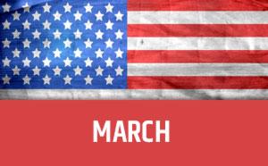 March usa calendar
