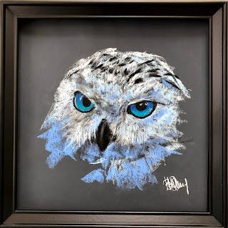 купить картину. картина сова.