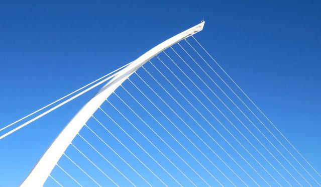 Free things to do in Dublin: Samuel Beckett Bridge
