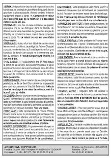 programme quinté Pronostic Mardi 05/10/2021