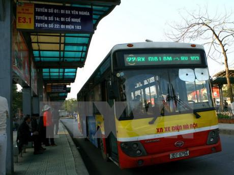Hà Nội đầu tư 1400 xe buýt Wifi theo tiêu chuẩn châu Âu