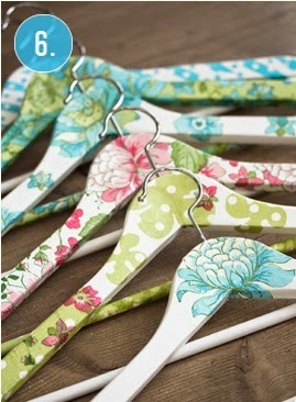 DIY clothes hangers