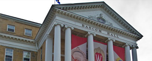 bascom hall on bascom hill in madison wi