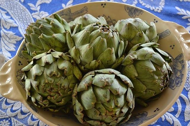 la alcachofa en la cocina de la abuela