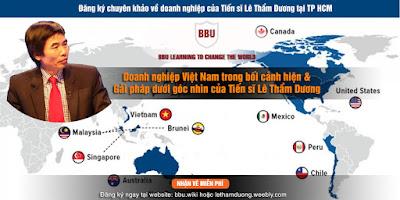 Lê Thẩm Dương kinh tế Việt Nam hiện nay phân tích bối cảnh giải pháp