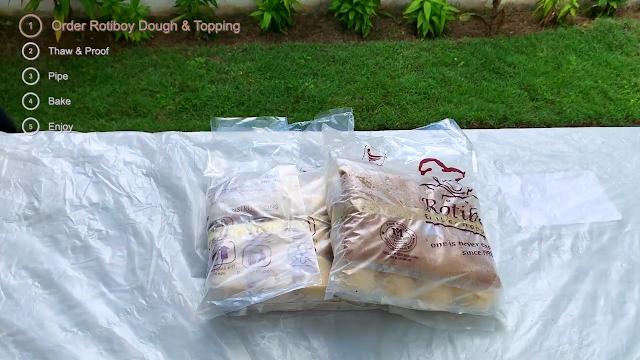 Tempah Doh dan Topping Krim RotiBoy
