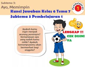 Kunci Jawaban Kelas 6 Tema 7 Subtema 3 Pembelajaran 1 www.simplenews.me