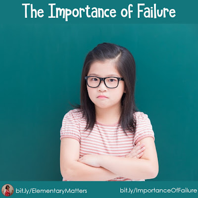 The Importance of Failure - It's a sticky subject, but failure is an important part of learning. See why!