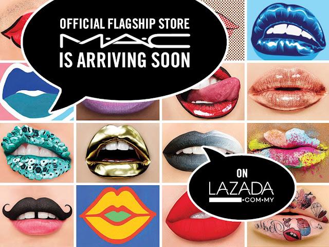 Akhirnya MAC Cosmetics Boleh Dah Beli Kat Lazada!
