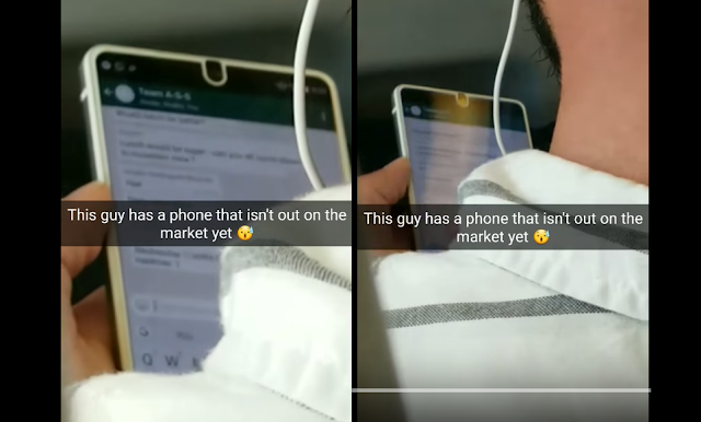 Videos show man using Essential phone
