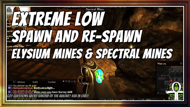 Extremely LOW Spawn and Re-Spawn In Elysium and Spectral Mines