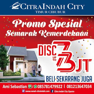 Promo Merdeka Agustus 2018 Citra Indah City