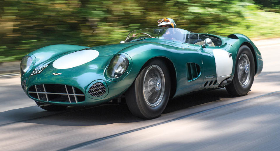 Aston Martin DBR1 Sets New Auction Record for British Car at $22550000