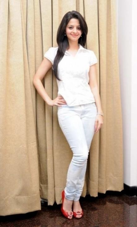 Vedhika Beautiful Malayalam Girl Photos In White Dress