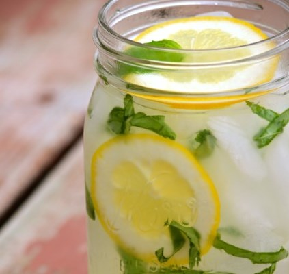Basil Lemonade #drinks #summer
