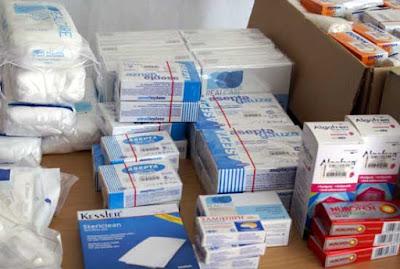 Δωρεά στο Κοινωνικό Φαρμακείο από την εκκλησία του Αγ. Σπυρίδωνος του Δήμου Ηγουμενίτσας σε φαρμακευτικό υλικό