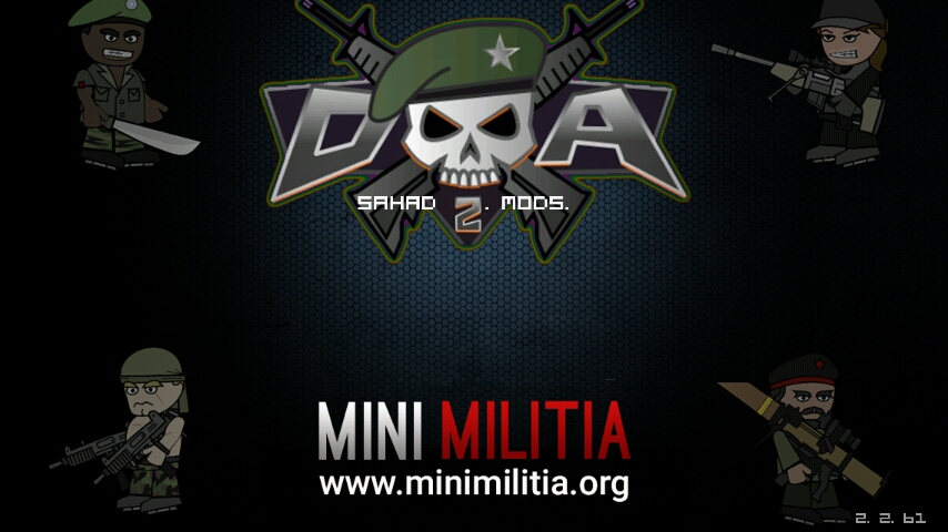 mini militia mega mod denzel versi lama