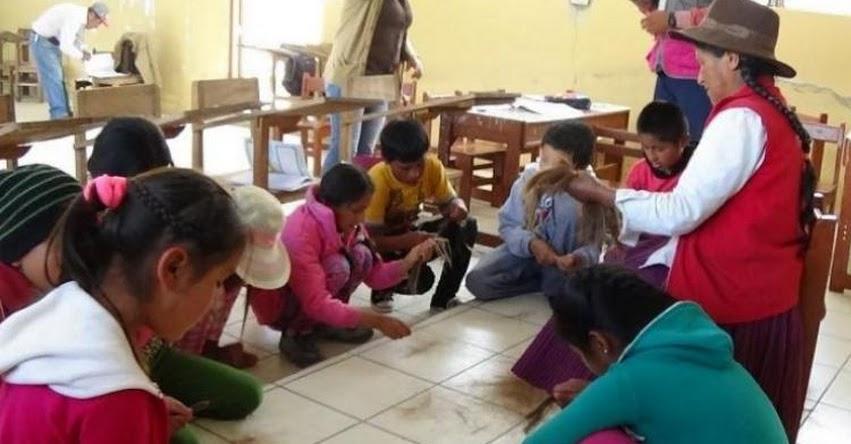 Promueven intercambio virtual de saberes ancestrales con estudiantes y padres de familia en la UGEL Abancay