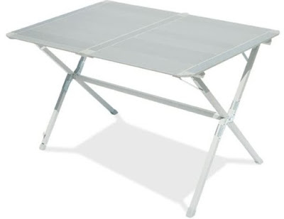 Il tavolo in acciaio smontabile Con.ver