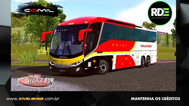 COMIL 1200 6X2 - VIAÇÃO REAL EXPRESSO