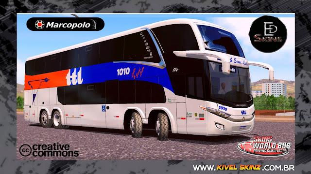 PARADISO G7 1800 DD 8X2 - VIAÇÃO TTL TRANSPORTES